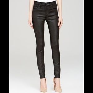 Hudson Jeans High Waist Barbara Super Skinny Jeans